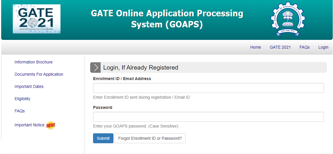 How to download gate admit card 2021